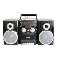 Naxa NPB-426 Portable CD Player with AM/FM Stereo Radio Cassette Player/Recorder
