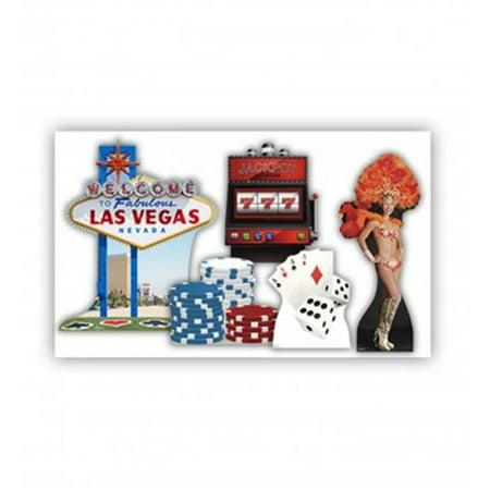 Advanced Graphics 1839 Vegas Party Theme Set - 1840 - 1845