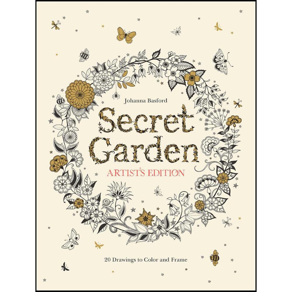 Secret Garden-Artist's Edition Coloring Book