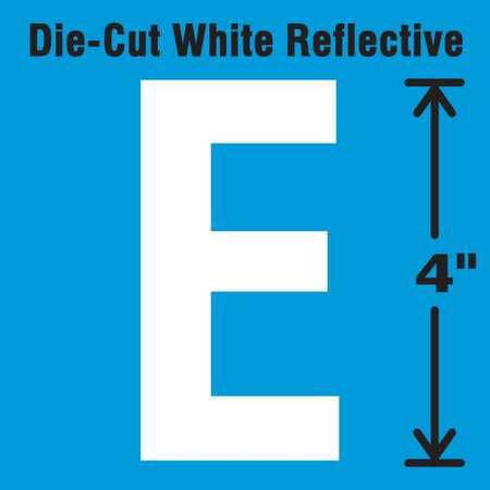 STRANCO INC DWR-4-E-5 Die-Cut Reflective Letter Label