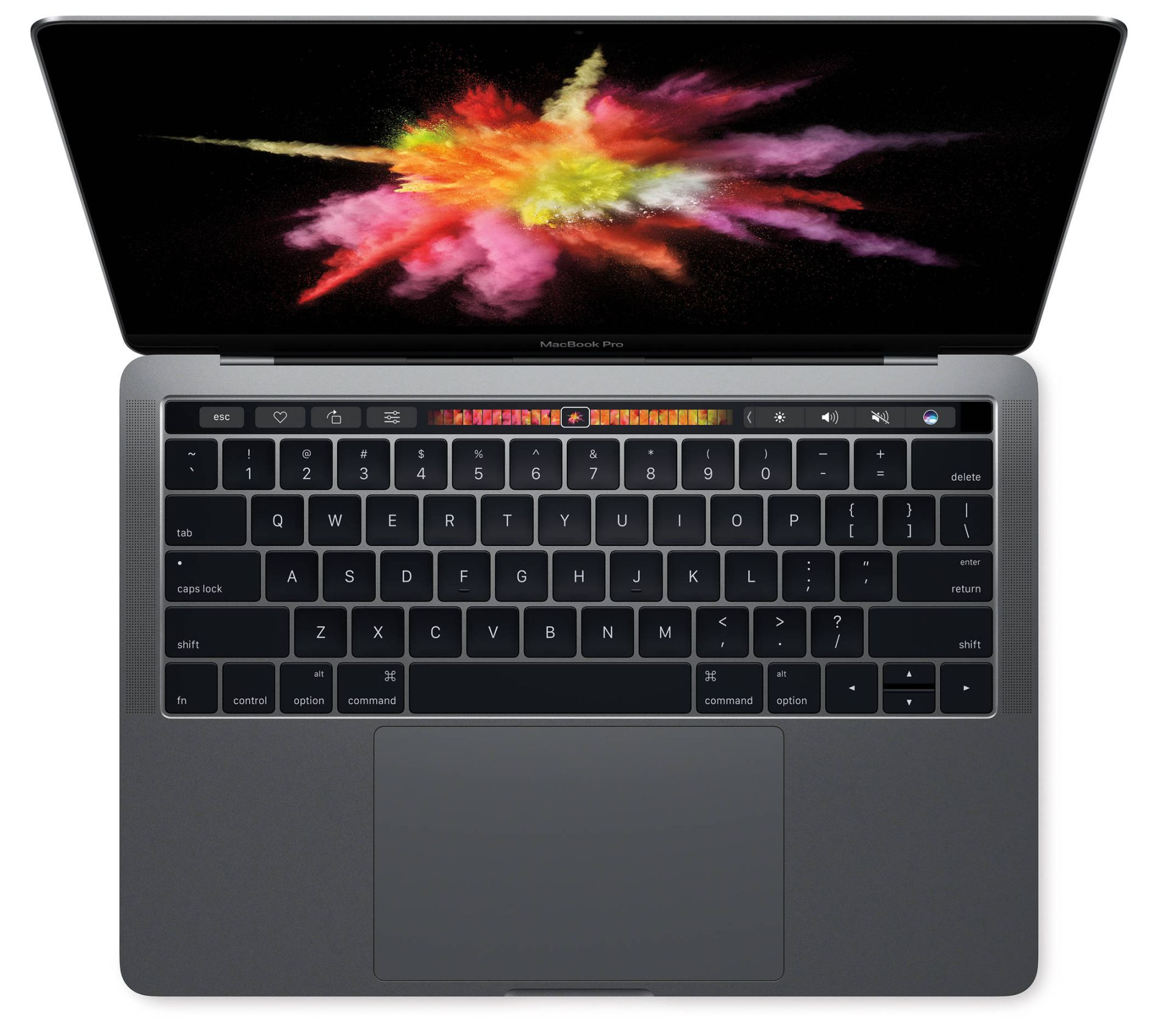 Apple MacBook Pro 15.4 Inch Laptop with Touch Bar 16GB RAM 512GB HD Space Gray MLH42LL A by Apple