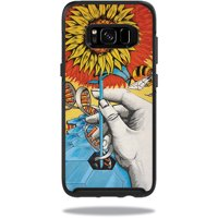 Skin For OtterBox Symmetry Samsung Galaxy S8 Case - sunflower dna | Protective, Durable, and Unique Vinyl Decal wrap cover | Easy To Apply, Remove, and Change Styles