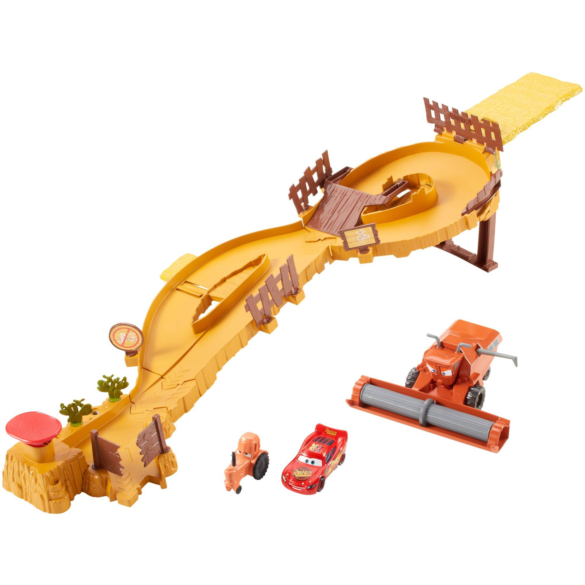 Cars Escape From Frank Track Set by Mattel