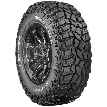 Cooper Discoverer STT Pro Off-Road Mud Terrain Tire - 35X12.50R15 (Best On Road Mud Terrain Tire)