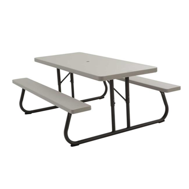 lifetime 6' picnic table, putty - walmart