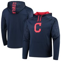 Cleveland Indians Fanatics Branded Defender Mission Primary Logo Pullover Hoodie - Navy