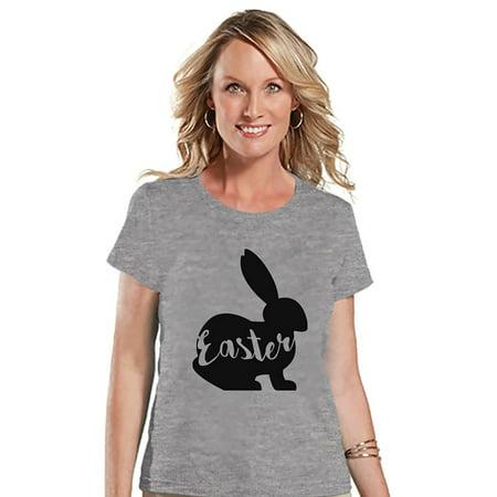 Custom For Women (Custom Party Shop Womens Easter Bunny t-shirt -)