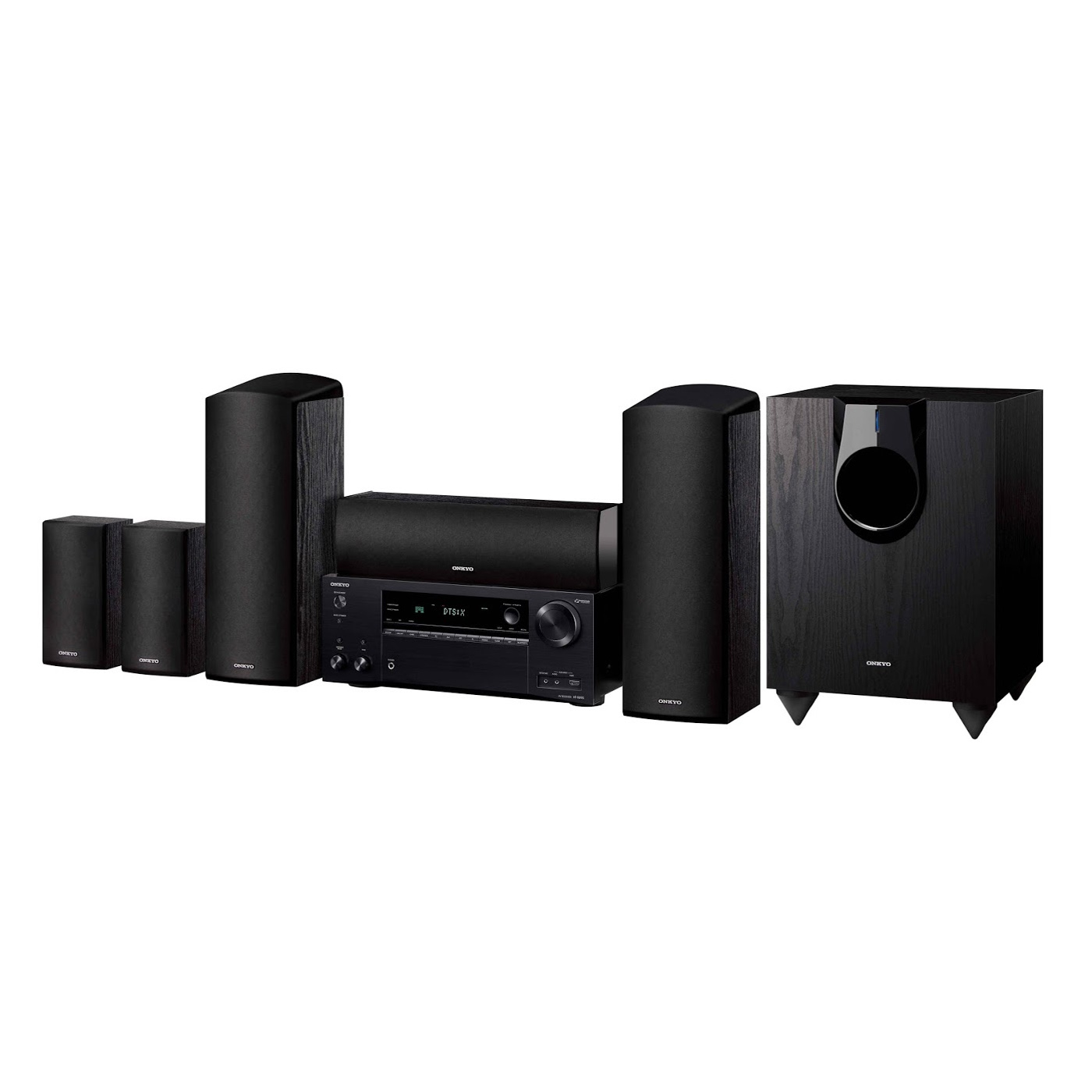 Onkyo HT-S7800 5.1.2 Channel Network Dolby Atmos Home Theater System by Onkyo