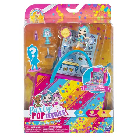 Party Popteenies Summer Pop Party, Under the Sea Party Pop Gift Bag with Collectible Dolls, Mini Furniture and Confetti, for Ages 4 and Up](Under The Sea Items)