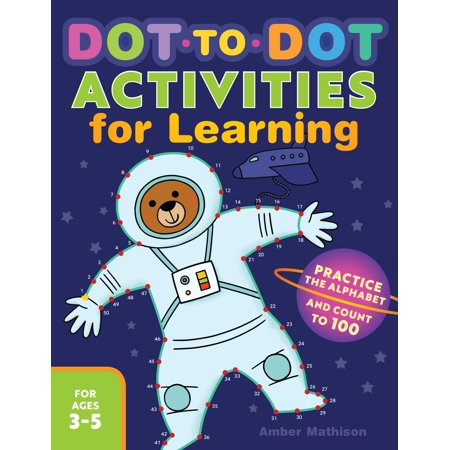 Dot to Dot Activities for Learning : Practice the Alphabet and Count to