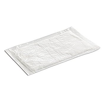 1/2 Inch White Foam Meat Tray - SafePro UZ40, 4x7-Inch White Ultra Dri-Lock 40 Grams Meat Pads, Absorbent Meat Fish and Poultry Foam Tray Pads (100)