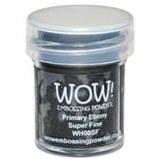 WOW! Embossing Powder Super Fine 15ml-Primary Ebony