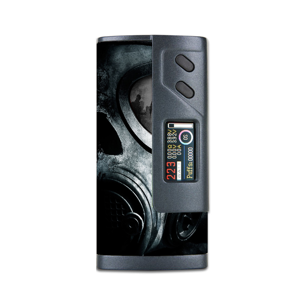 Skins Decals For Sigelei Fuchai 213W Plus Vape Mod   Gas Mask War Apocolypse by Itsaskin