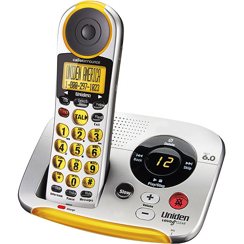 cordless phone with answering machine walmart