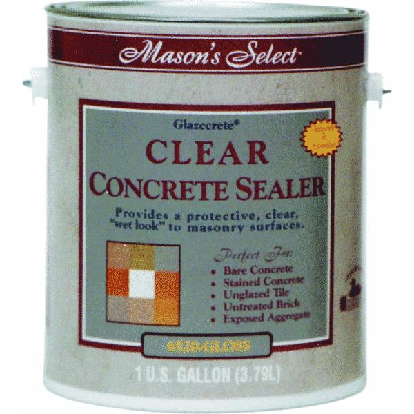 Duckback Mason's Select Low VOC Clear Concrete Sealer