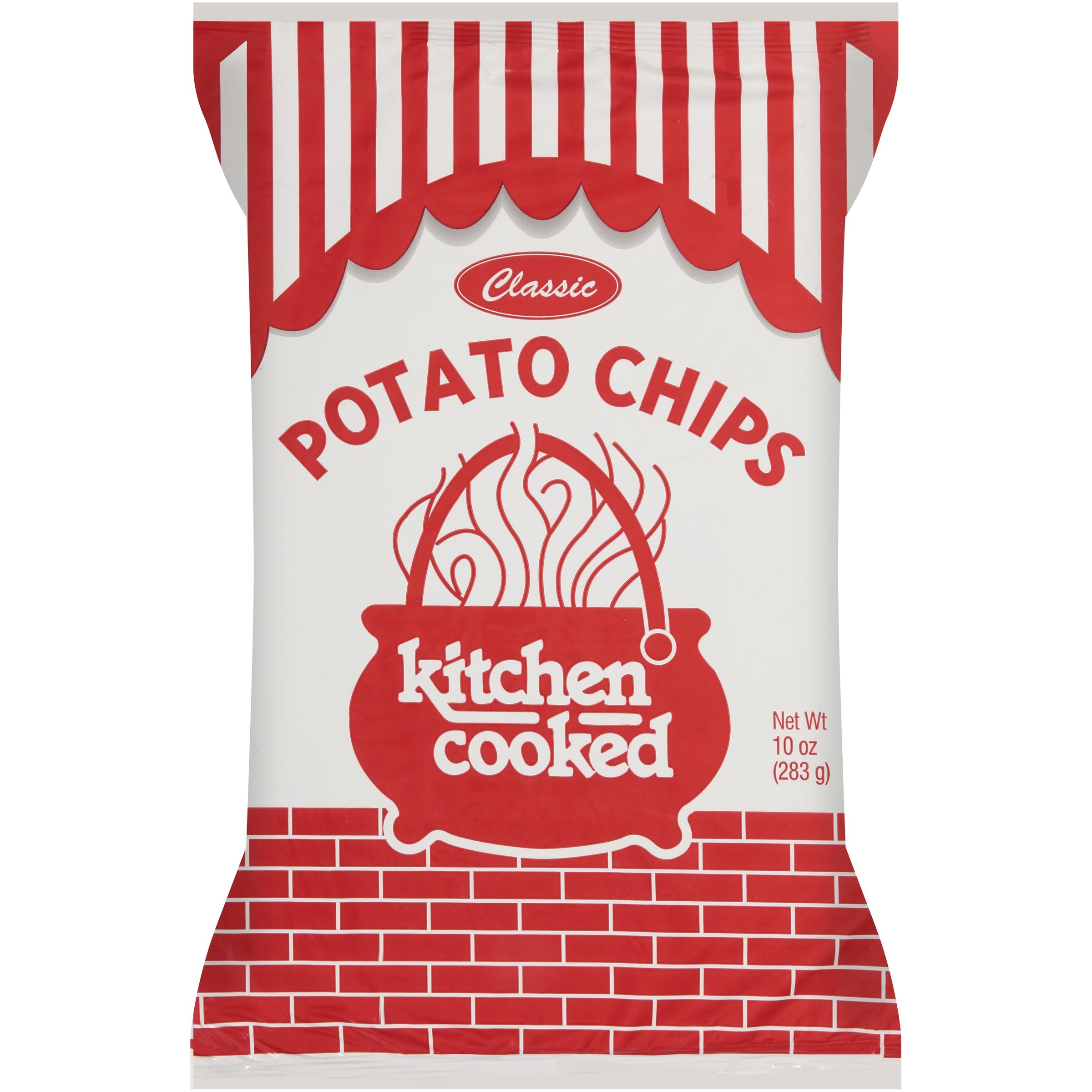 Kitchen Cooked Classic Potato Chips, 10 Oz.