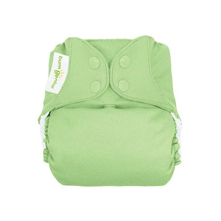 Freetime All-in-One Snap Diapers - Grasshopper
