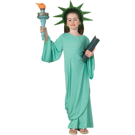 Statue of Liberty Girls Child Halloween Costume - Halloween Costumes Baby Girls