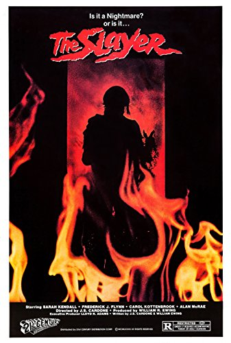 The Slayer (1982) Movie Poster 24x36 inches by movie posters
