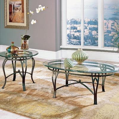 Bundle 60 Steve Silver Furniture Madrid Coffee Table Set 6 Pieces