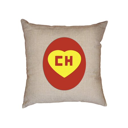 Iconic El Chapulin Colorado CH Red Yellow Decorative Linen Throw Cushion Pillow Case with - Chapulin Colorado Costume