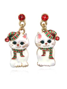 826e9d528 Product Image cocojewelry Christmas Santa Hat Kitty Cat Charm Dangle Post  Earrings. Coco Jewelry. Product Titlecocojewelry Christmas ...