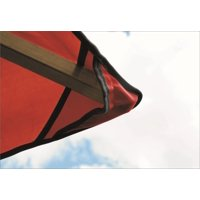 12 FT SQ ACACIA Gazebo --Replacement Canopy---Red