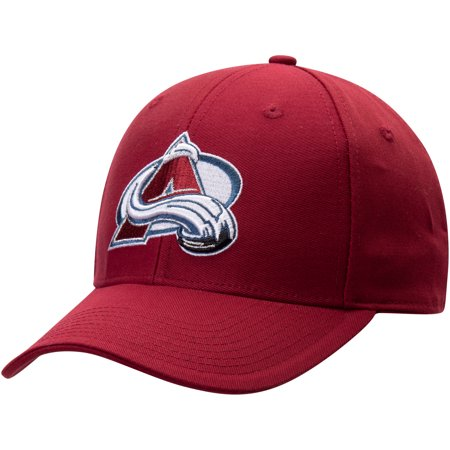 Colorado Avalanche Merchandise (Men's Fanatics Branded Burgundy Colorado Avalanche Adjustable Hat - OSFA )