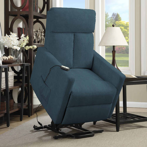 ProLounger Power Lift Chair Microfiber Recliner, T-Back, Multiple Colors