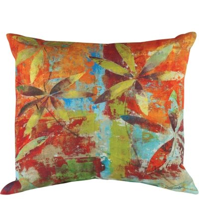 "18"" Festive Fall Colors ""Take It or Leaf It"" Decorative throw Pillow"