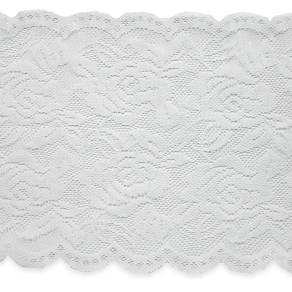 """Expo Int'l 5 yards of Ally 5 1/2"""" Stretchable Polyester Chantilly Lace Trim"""