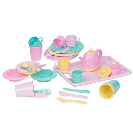 Play Circle by Battat – Dishes Wishes Dinnerware Set – on wish i was painting, wish i was cooking kitchen, wish i was toys, wish i was kitchen playset, wish i was dolls, wish i was cleaning set,