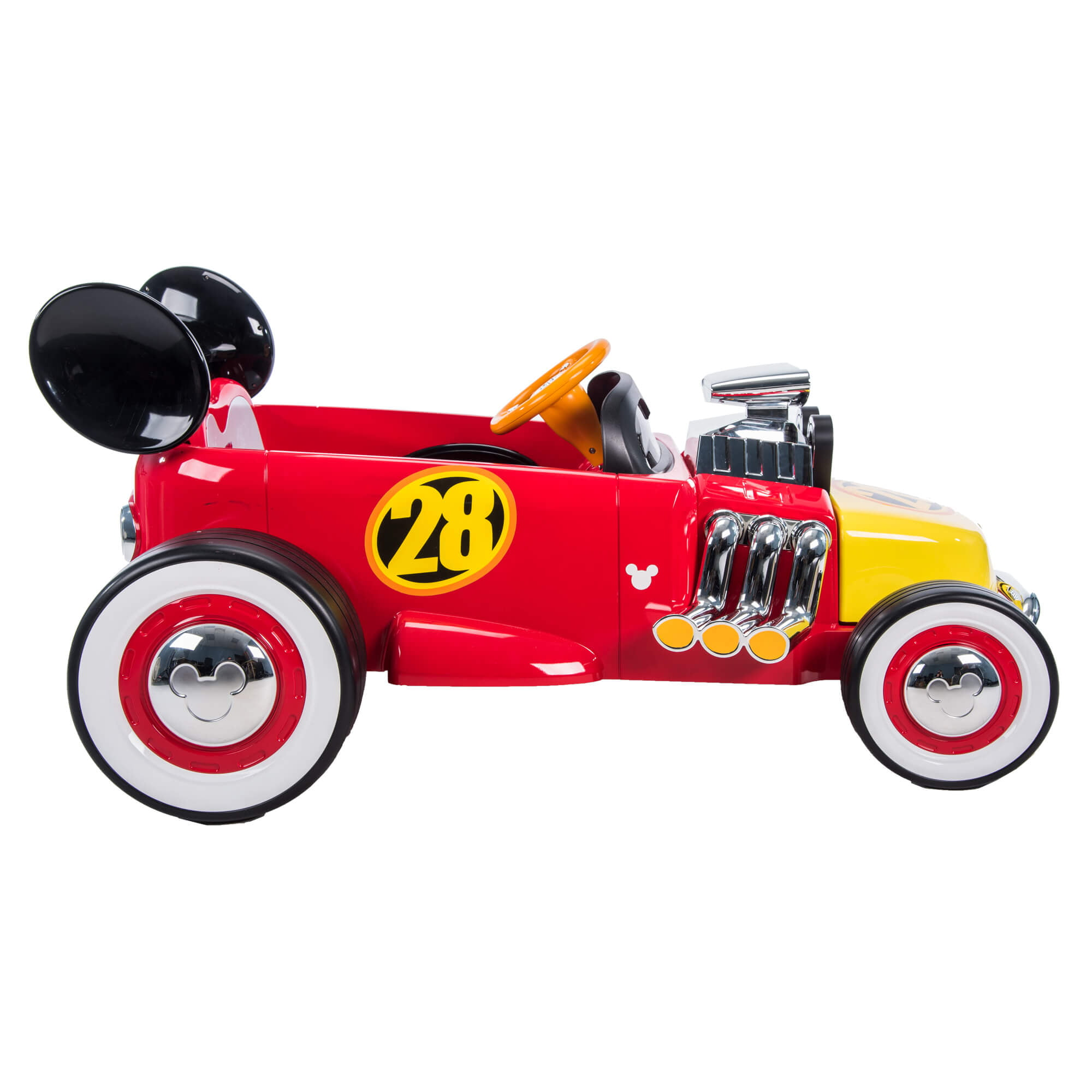Disney Mickey Roadster Racer 6 Volt Battery Powered Ride On By Huffy Walmart Com Walmart Com