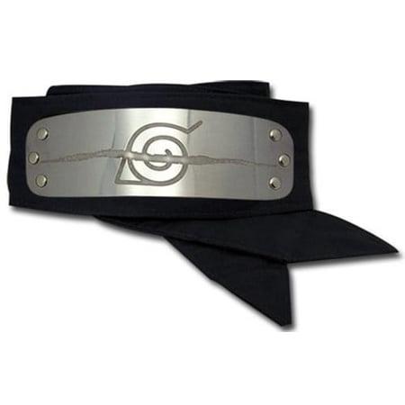 Naruto Anti Leaf Village Metal Plate Headband