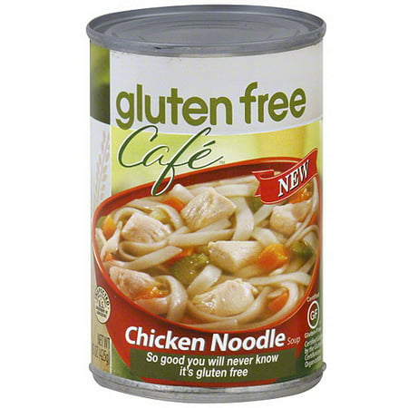 Gluten Free Cafe Chicken Noodle Soup,15 oz (Pack of 6)