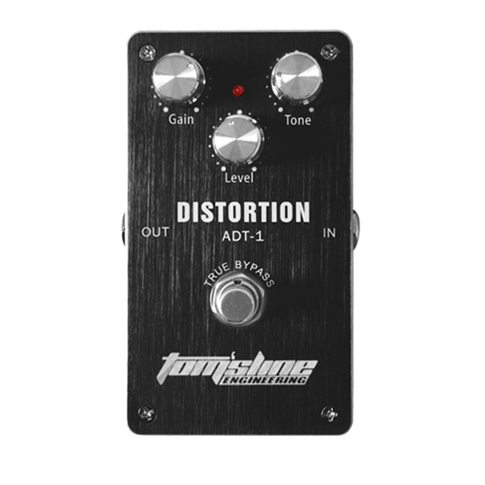 ADT-1 Distortion Electric Guitar Effect Pedal Aluminum Alloy Housing True pass, Ship from... by