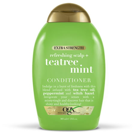 Natures Gate Tea Tree Conditioner - OGX Extra StrengthTea Tree Mint Conditioner 13oz