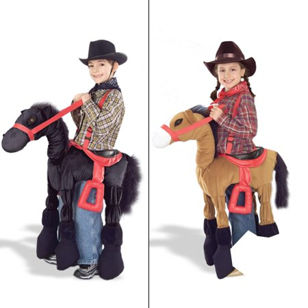 Ride A Pony Child Costume - Brown - Anime Costumes For Kids