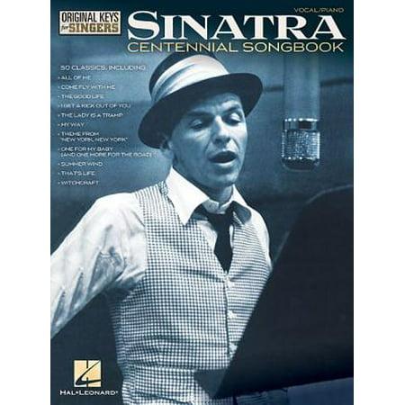 Frank Sinatra - Centennial Songbook - Original Keys for