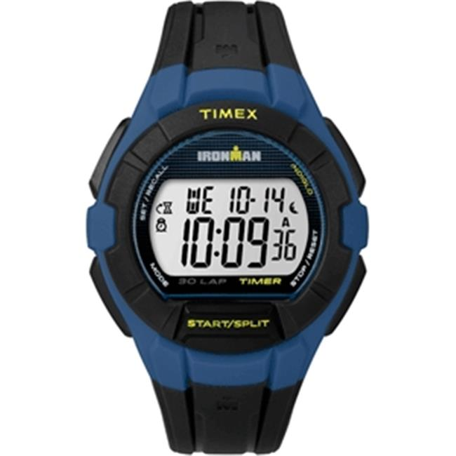 Timex TW5K957009J Ironman Essential 30 LAP Full Size, Blue & Yellow