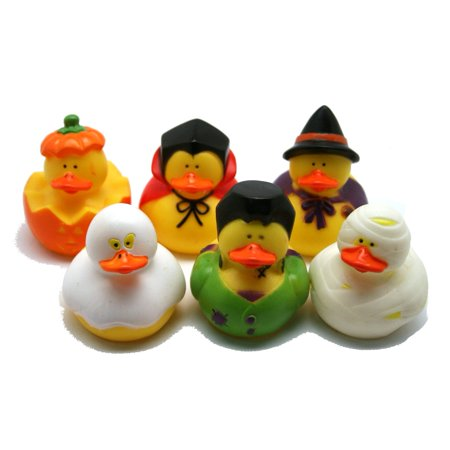 Halloween Rubber Ducks 1-Dozen Item# 25/3027 ()