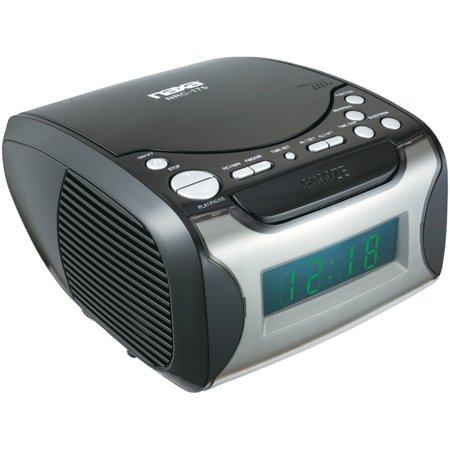 Naxa Nrc175 Digital Alarm Clock Radio   Cd Player