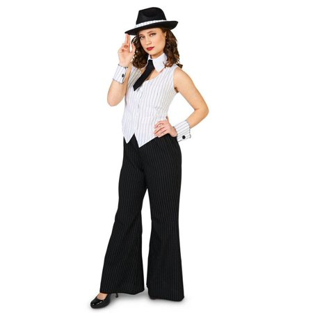 ADULT MOB BOSS COSTUME-6-10 - Bass Costume