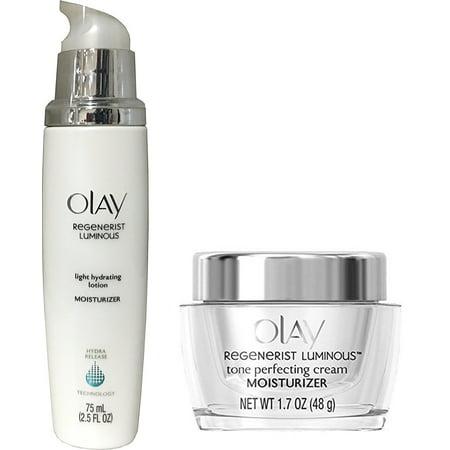 Olay Regenerist Luminous Tone Perfecting Cream And Olay