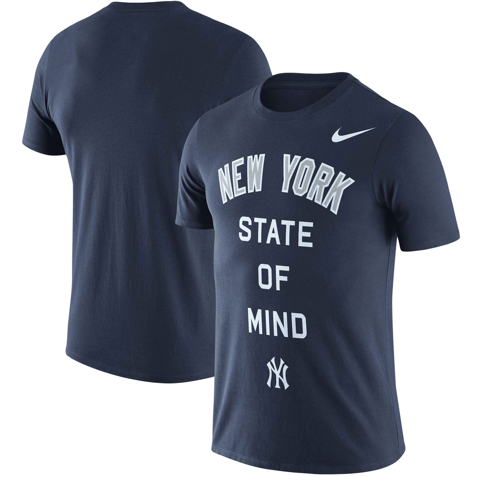 New York Yankees Nike NY State Local Phrase Performance T-Shirt - Navy