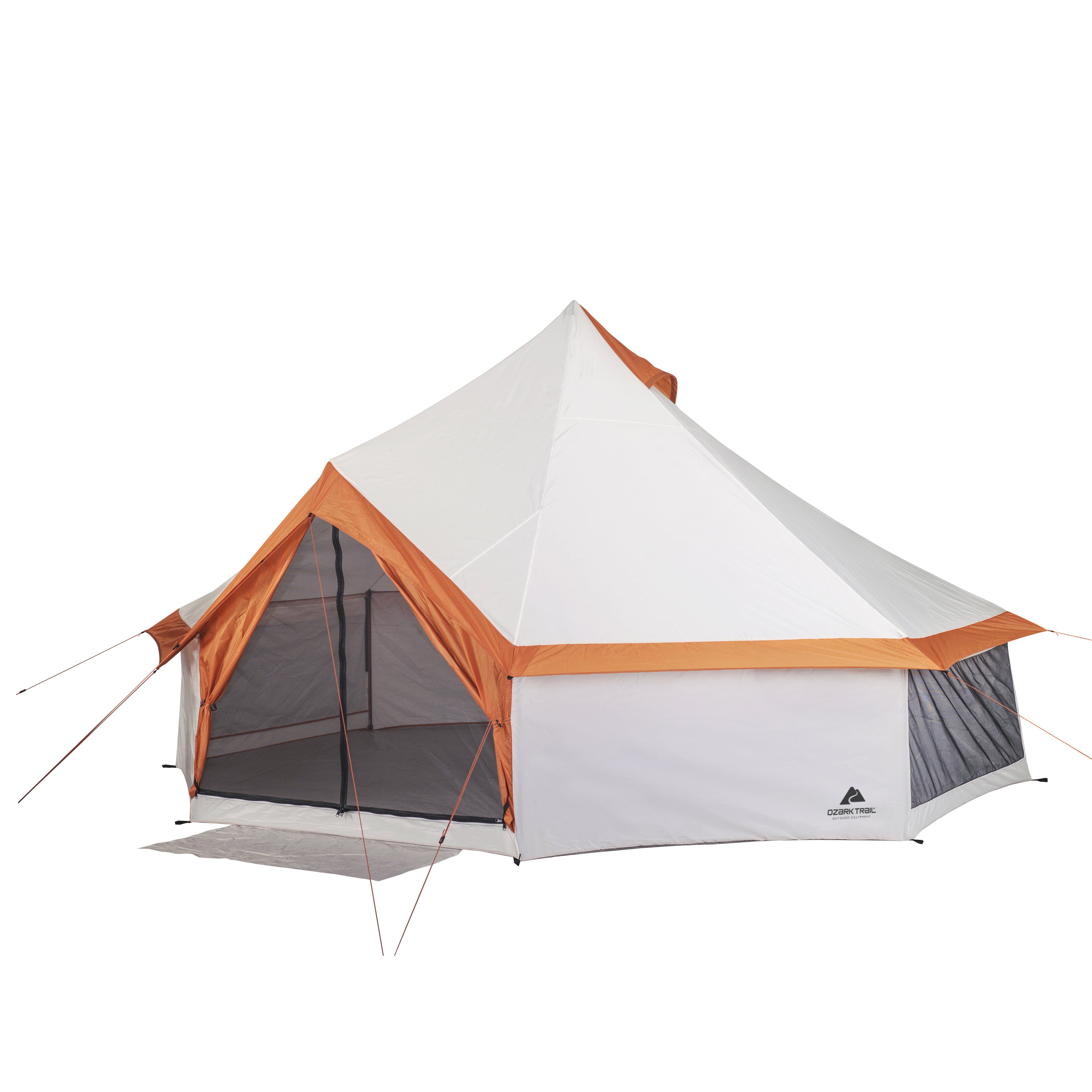 ozark trail 8 person yurt camping tent walmart com