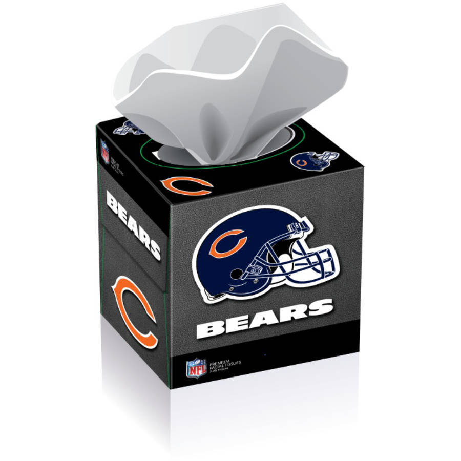 NFL Chicago Bears Tissue Boxes