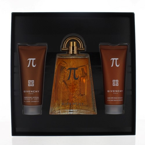 GIVENCHY PI MEN 3 PIECE GIFT SET - 3.3 OZ EAU DE TOILETTE SPRAY by GIVENCHY