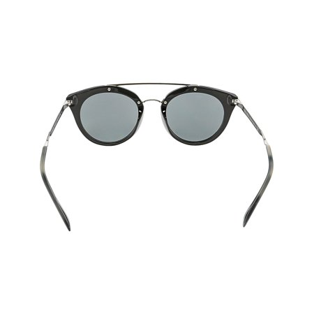 1b62f826f35e Prada Women's Cinema PR23SS-1AB1A1-52 Black Oval Sunglasses - image 1 ...