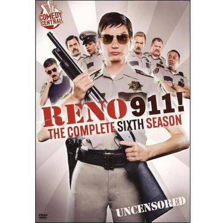 Reno 911   The Complete Sixth Season  Uncensored   Widescreen